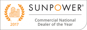 Sunpower Commercial National Dealer of the Year Award